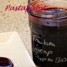 Saucenbasis aus rotem Saft - Rezept