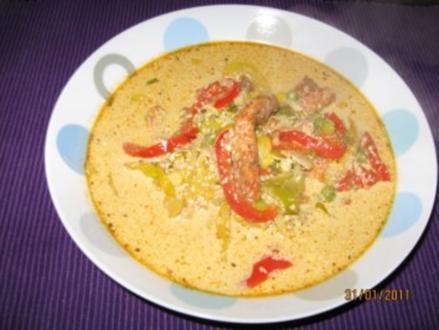 Party - Suppe Kunterbunt - Rezept