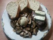 Filetsteak mit Champignons - Rezept