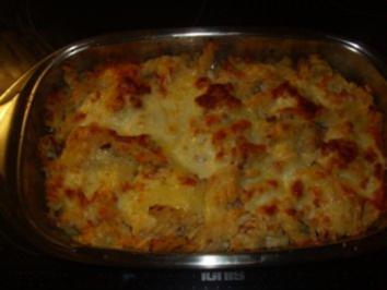 Rezept: Nudelgerichte: Nudeln mit Thunfisch und dreierlei Käse