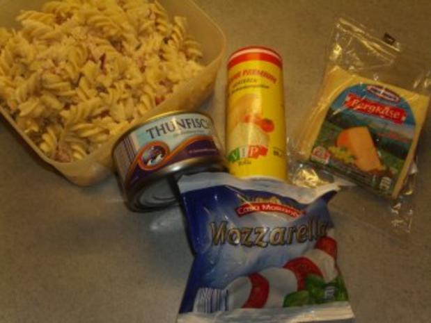 Nudelgerichte: Nudeln mit Thunfisch und dreierlei Käse - Rezept - Bild Nr. 2