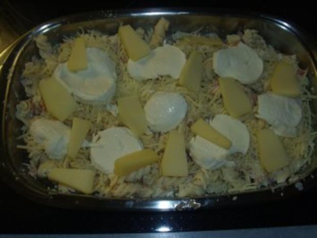 Nudelgerichte: Nudeln mit Thunfisch und dreierlei Käse - Rezept - Bild Nr. 3