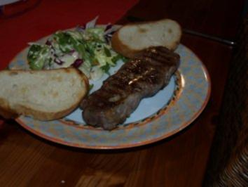 Rumpsteak - Rezept