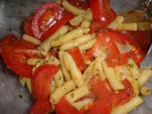 Bohnen-Zwiebel-Salat - Rezept