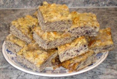Butterkuchen mit Mohn - Rezept