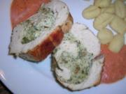 """Kräuter-Puten-Rollbraten mit """"Gazpacho""""  Sauce - Rezept"""