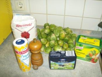 Rezept: Rosenkohlgemüse