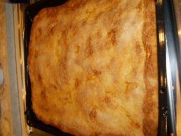 Zuckerkuchen oder auch Polterkuchen - Rezept