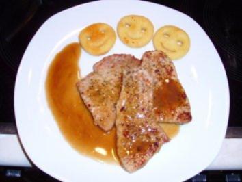 Fleisch: Mediterrane Schnitzelchen al Marsala - Rezept