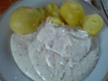 Rezept: Pellkartoffeln und Quark