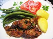 Minuten-Steaks vom Lamm ... - Rezept