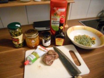 Feuriger Rindfleischsalat - Rezept
