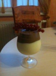 Mousse au chocolate hell/dunkel - Rezept