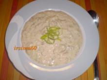 Käse-Lauch-Suppe - Rezept