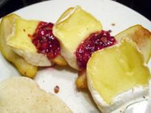 Desserts: Zimt-Birnen mit Camembert - Rezept