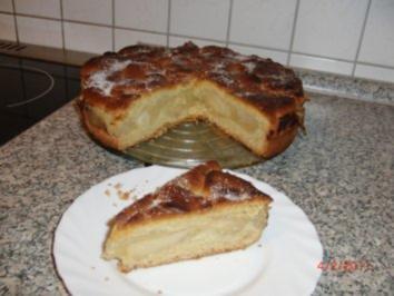 Oma`s Apfelkuchen mit Decke - Rezept