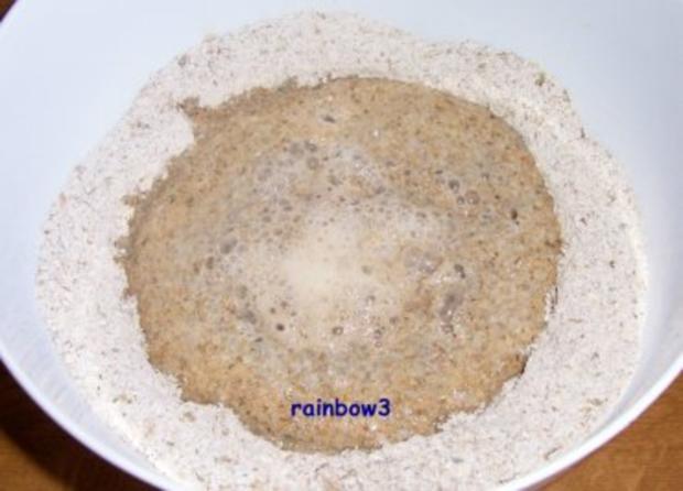 Backen: Roggenschrot-Brot (Sauerteig) - Rezept - Bild Nr. 3