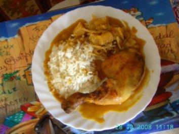 """Hähnchenkeule """"Indonesisch"""" - Rezept"""