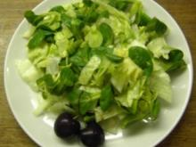 Eisberg-Rapunzel-Salat - Rezept