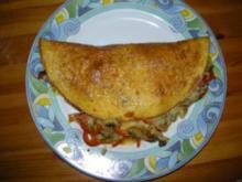 Gefülltes Omelette - Rezept