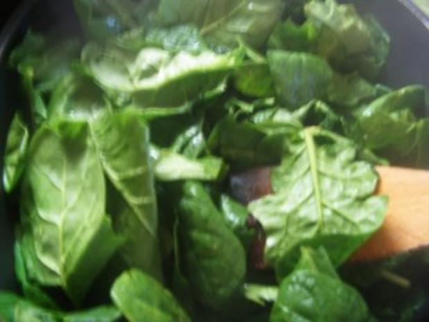 Lachssteak im Spinatbett - Rezept - Bild Nr. 3