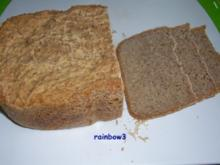 Backen: Buttermilch-Mischbrot (Sauerteig) - Rezept