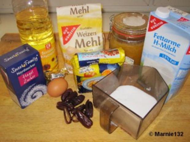 Dattelbrötchen - Rezept - Bild Nr. 2