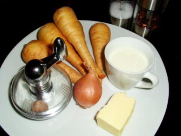 Beilage: Pastinakenpüree - Rezept - Bild Nr. 2