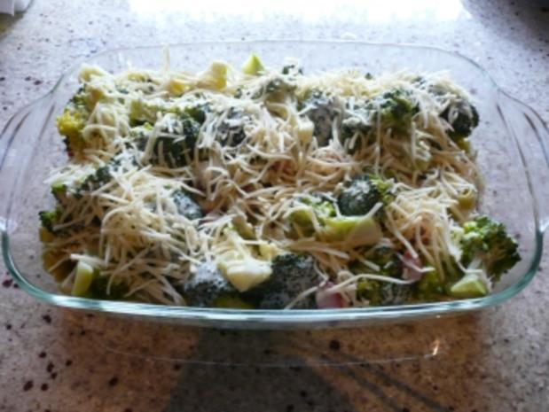 Broccoli -Auflauf mit Kasseler - Rezept
