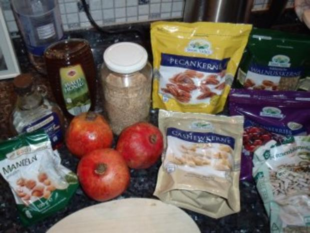 Granatapfel-Dessert oder Süßspeise - Rezept - Bild Nr. 3