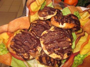 Schokoladige Streuselschnecken - Rezept
