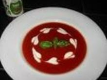 Portugiesische Tomatensuppe - Rezept