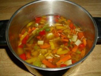 Rezept: Schnelle Asia Suppe