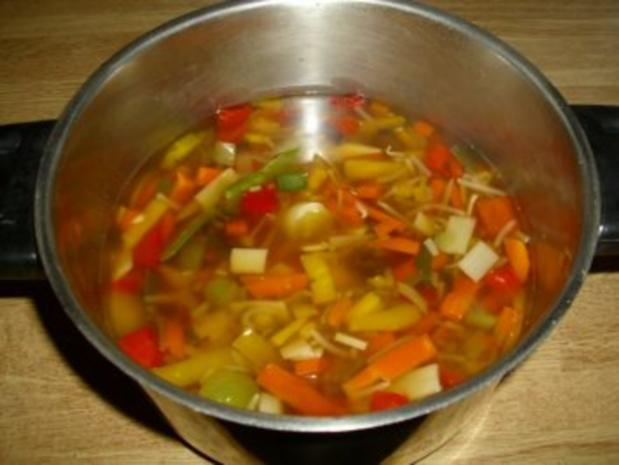 Schnelle Asia Suppe - Rezept