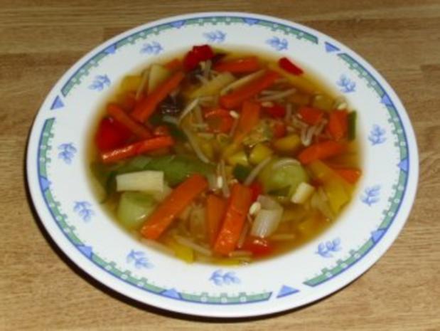 Schnelle Asia Suppe - Rezept - Bild Nr. 2