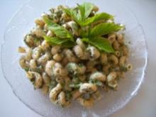 Gierschgrüner Nudelsalat - Rezept