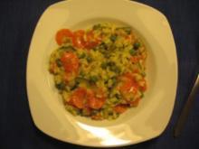 Risotto Primavera (Vegetarisches Gemüserisotto) - Rezept