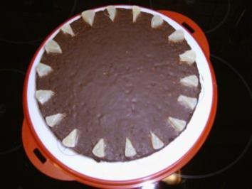 Rezept: Zitronen - Schokoladenkuchen