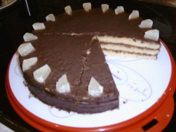 Zitronen - Schokoladenkuchen - Rezept - Bild Nr. 3