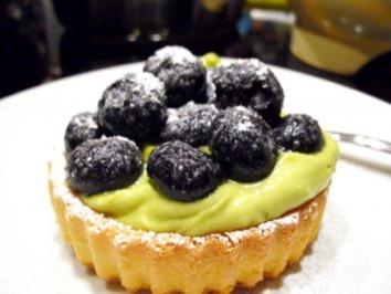 Desserts: Heidel-Bären auf Avocadoparkett - Rezept