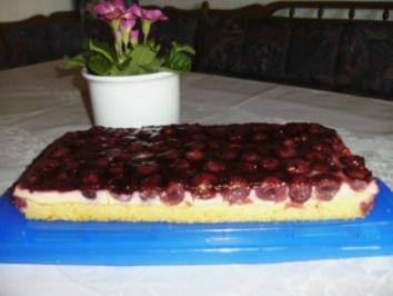 Kirsch-Schmand-Kuchen - Rezept
