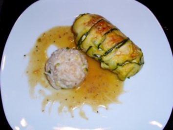 Fleisch: Hähnchen-Zucchini-Päckchen - Rezept