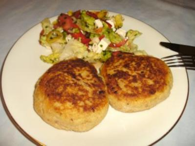 Kartoffel - Frikadellen - Rezept