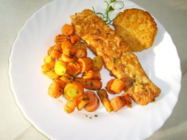 Gebackene Kartoffelklöße - Rezept - Bild Nr. 6