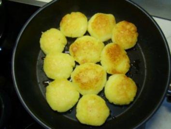 Rezept: Gebackene Kartoffelklöße