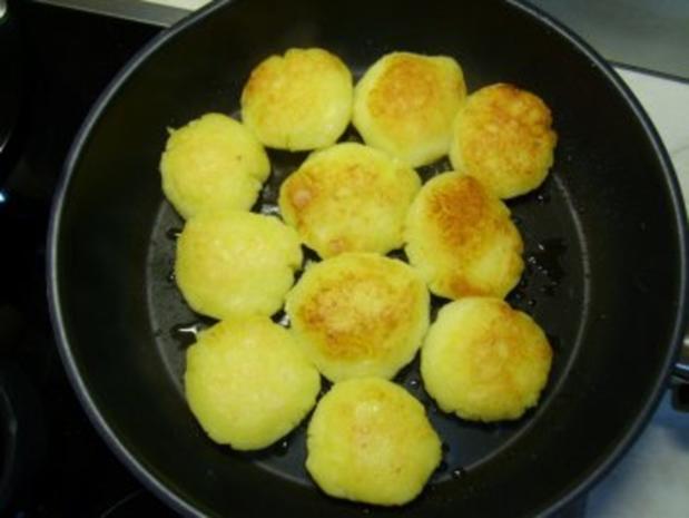 Gebackene Kartoffelklöße - Rezept