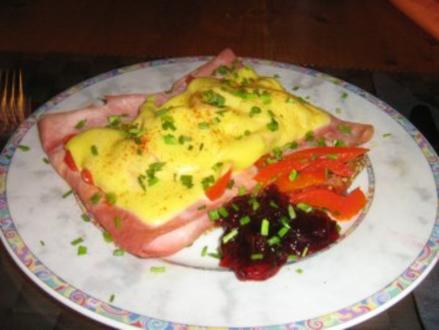Paprika-Schinken-Toast - Rezept