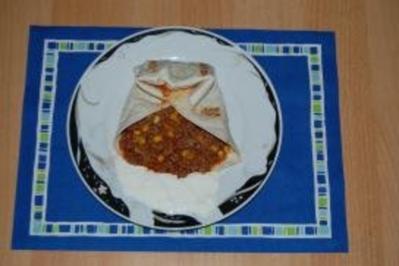 Gefüllte Tortillas - Rezept