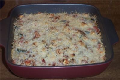 Zucchini-Tomaten-Kartoffel-Auflauf - Rezept