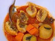 Gemüsesuppe mit Einlage (Kubbe) - Rezept
